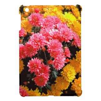 Pink Mums Flower Garden by Sharles fine art iPad Mini Cover