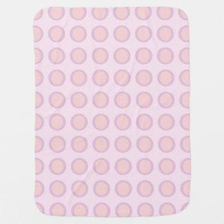 Pink-n-Orange Dots Baby Blanket