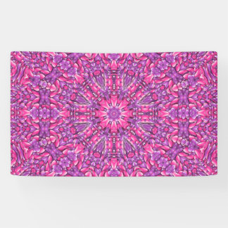 Pink n Purple   Banners, 4 sizes