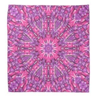 Pink n Purple Colorful Hankerchief, Hankie Bandana