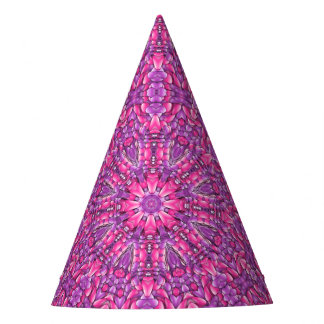 Pink N Purple  Customizable Party Hats