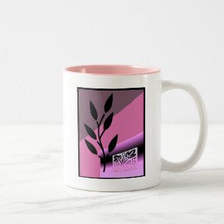 Pink Nature Theme Mug