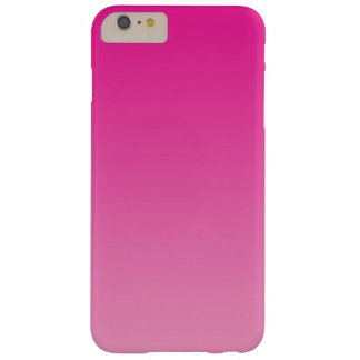 Pink Ombre Barely There iPhone 6 Plus Case