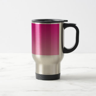 Pink Ombre Stainless Steel Travel Mug