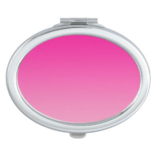 Pink Ombre Travel Mirror