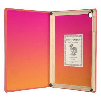 Pink & Orange Ombre Cover For iPad Air