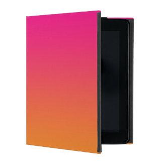 Pink & Orange Ombre iPad Folio Cases