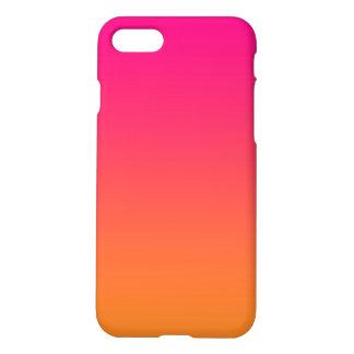 Pink & Orange Ombre iPhone 7 Case
