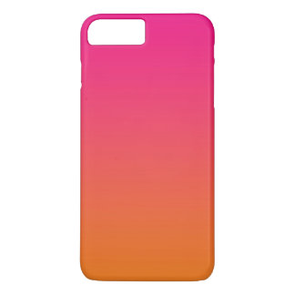 Pink & Orange Ombre iPhone 7 Plus Case