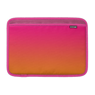 Pink & Orange Ombre Sleeve For MacBook Air