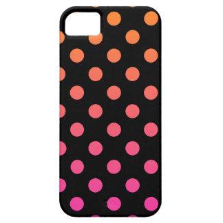 Pink Orange Polka Dot iPhone 5 Cover