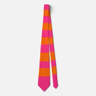 Pink & Orange Tie