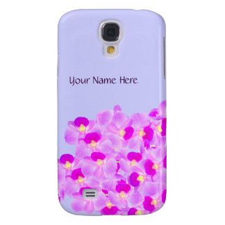 Pink Orchid Bouquet Galaxy S4 Case