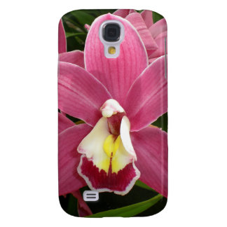 Pink Orchid Galaxy S4 Case