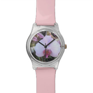 Pink Orchid Wrist Watches