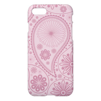 Pink paisley pattern iPhone 7 case