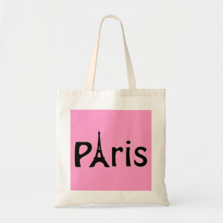 Pink Paris, France - Eiffel Tower Tote Bag