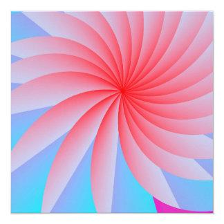 Pink Passion Flower Envelopes Card