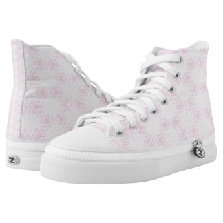Pink Patterned Abstract Printed Shoes