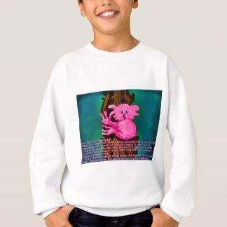 Pink Peaceful Treehugger Sweatshirt