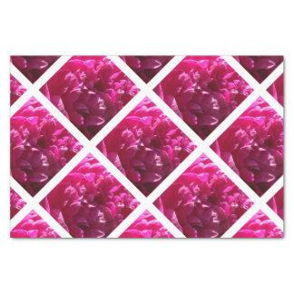 Pink Peony Flower Tissue Paper