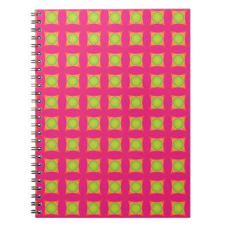 Pink photo notebook