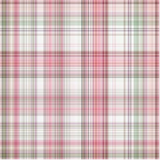 Pink Plaid Photo Cut Outs
