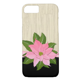 Pink Poinsettia iPhone 8/7 Case