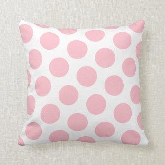 Pink Polka Dot Cushion
