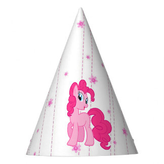 Pink Pony Cute Girl's Birthday Hat