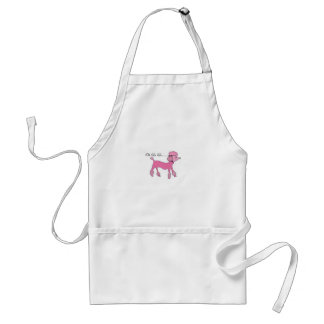 Pink Poodle Aprons