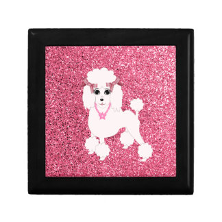 Pink poodle gift box
