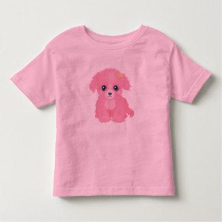 Pink Puppy Girl's T-Shirt