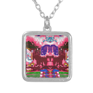 Pink Purple City Festive Decorations Celebrations Custom Jewelry