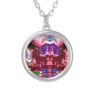 Pink Purple City Festive Decorations Celebrations Necklace