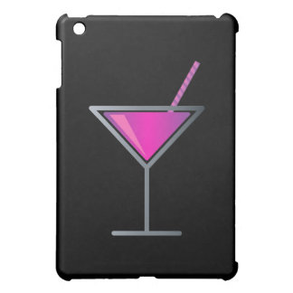 Pink Purple Cocktail Martini Glass Cover For The iPad Mini