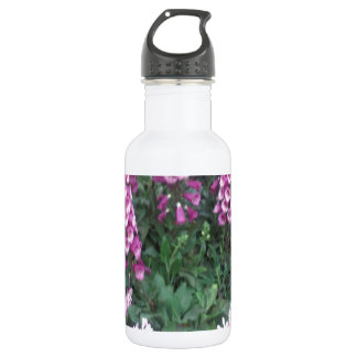 PINK Purple Flower Show: Love Sensual Romance 532 Ml Water Bottle