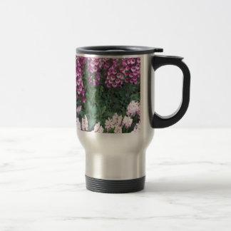 PINK Purple Flower Show: Love Sensual Romance Gift Stainless Steel Travel Mug