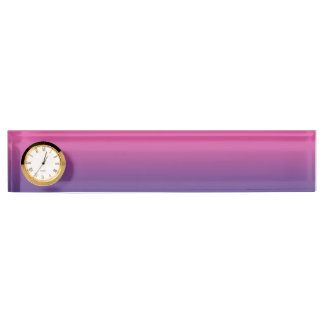 Pink & Purple Ombre Name Plate