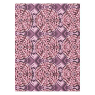 Pink Purple Wine Faux Satin Mandala Tablecloth