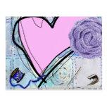 Pink Quilt Postcard