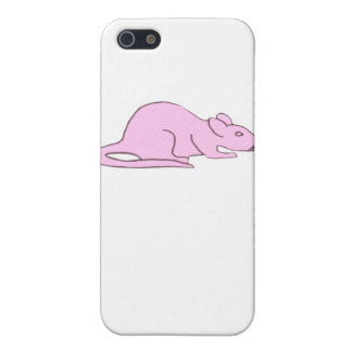 Pink Rat iphone Hard Case iPhone 5/5S Cover