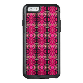 Pink Red Fun Alternative Floral Illusion Print OtterBox iPhone 6/6s Case