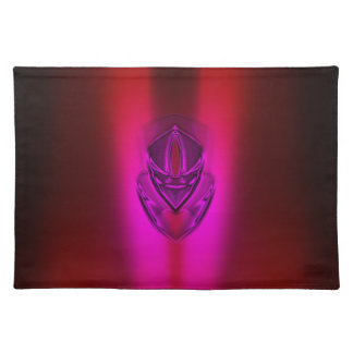PINK RED SHADOW DUCK PLACEMAT