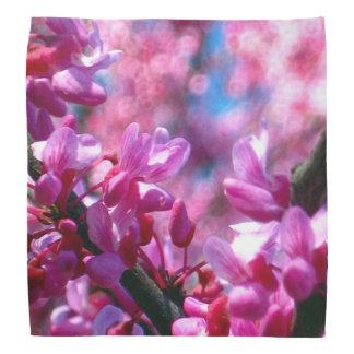 Pink Redbud Blossoms Bandana