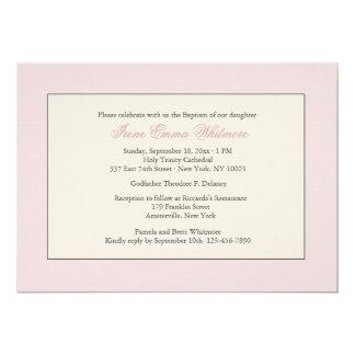 Pink Religious Invitation