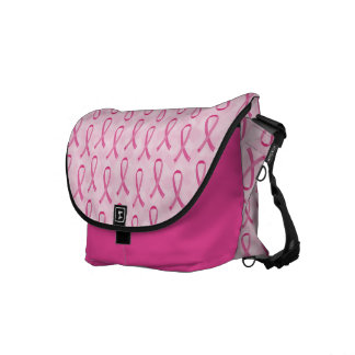 Pink Ribbon Breast Cancer Awareness Bag Courier Bags