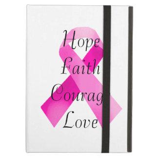 Pink Ribbon Faith iPad Case
