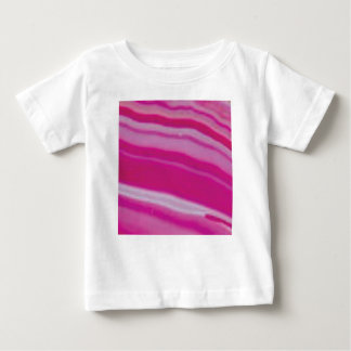 pink rock rows baby T-Shirt