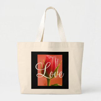 Pink Rose Delight Love II Bag - Customizable Bags